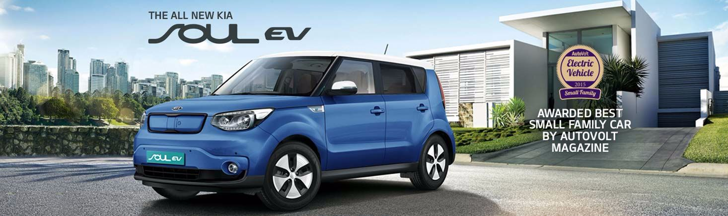 The new Kia Soul EV