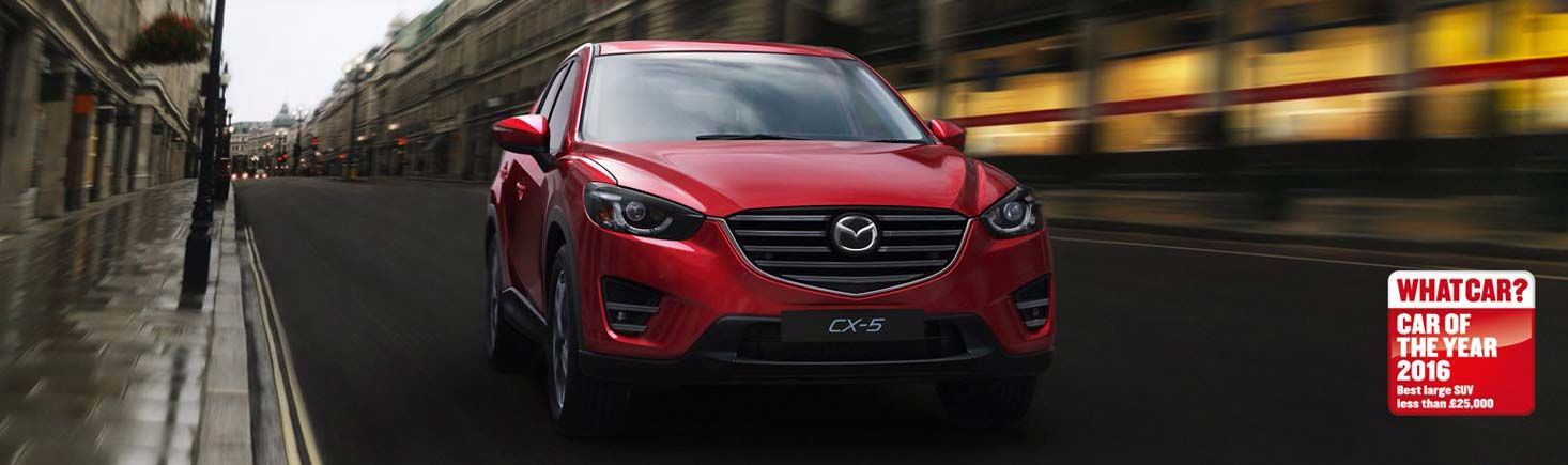 The new Mazda CX-5