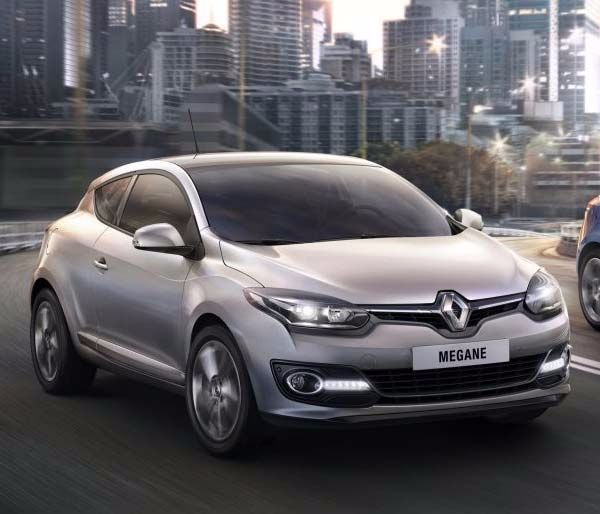 Renault Megane Coupe Gallery