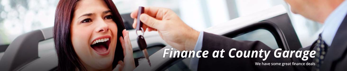 Car Finance at County Garage Group in Barnstaple, Devon