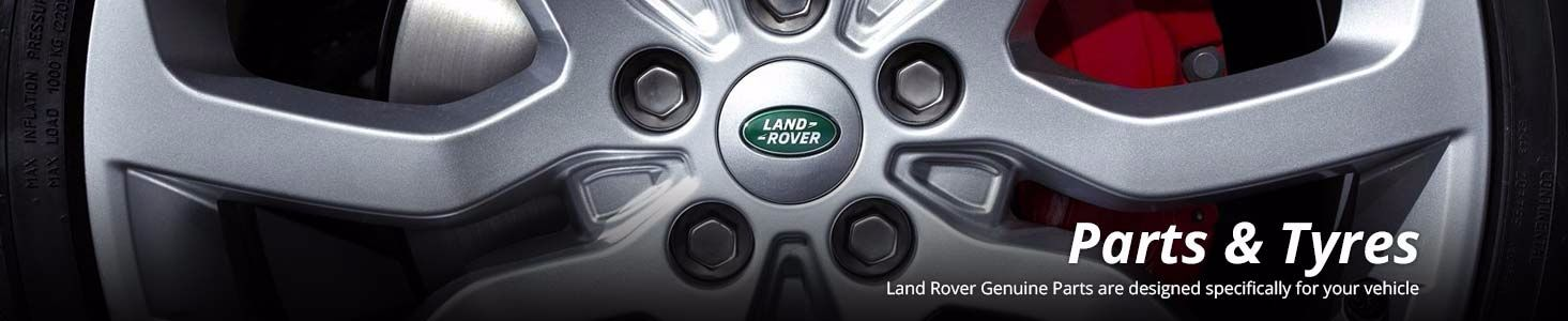 Land Rover parts & tyres at County Garage