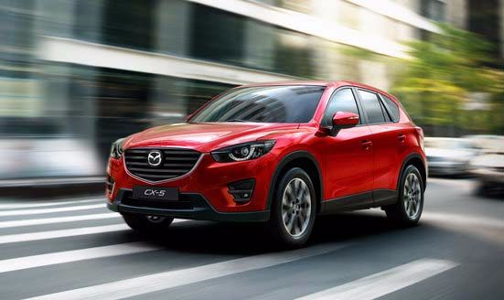 2015 sees five new models launched at County Mazda