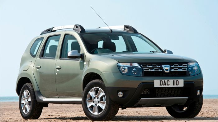 Dacia Duster wins at 2015 Green Apple Awards