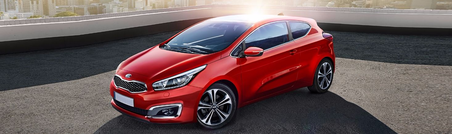 The new Kia Pro Cee'd