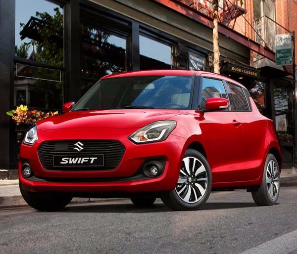New Suzuki Swift Gallery