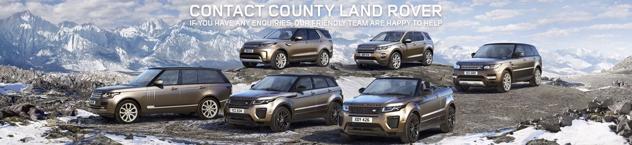 Contact County Land Rover