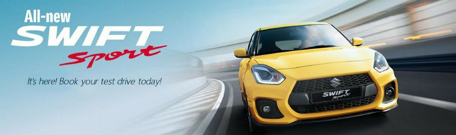 The new Suzuki Swift Sport